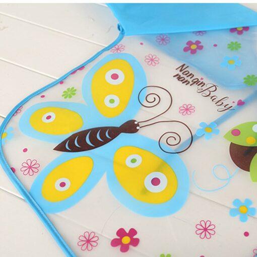 Baby Bibs Burp Clothes Bib Waterproof Long Sleeve Kids Boys Girls Feeding Bibs Apron Saliva Towel 5