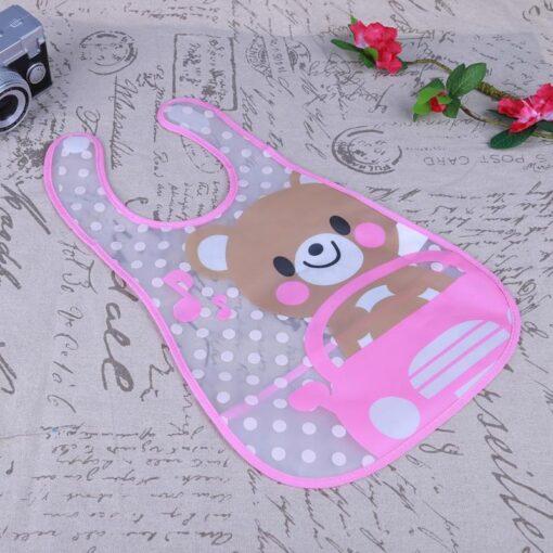 Baby Bibs Cute Cartoon Baby Kids Bibs Waterproof Saliva Towel Feeding Lunch Bandana Apron Bibs Burp 2