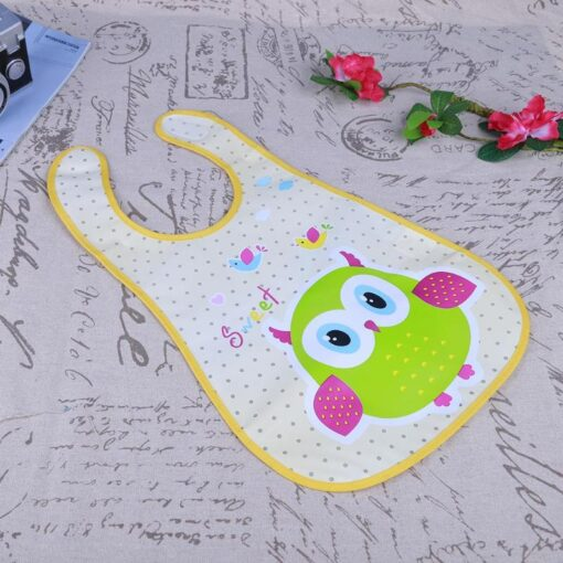 Baby Bibs Cute Cartoon Baby Kids Bibs Waterproof Saliva Towel Feeding Lunch Bandana Apron Bibs Burp 3