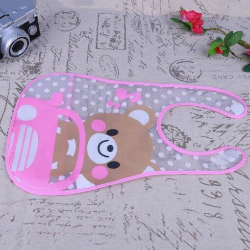 Baby Bibs Cute Cartoon Baby Kids Bibs Waterproof Saliva Towel Feeding Lunch Bandana Apron Bibs Burp 4