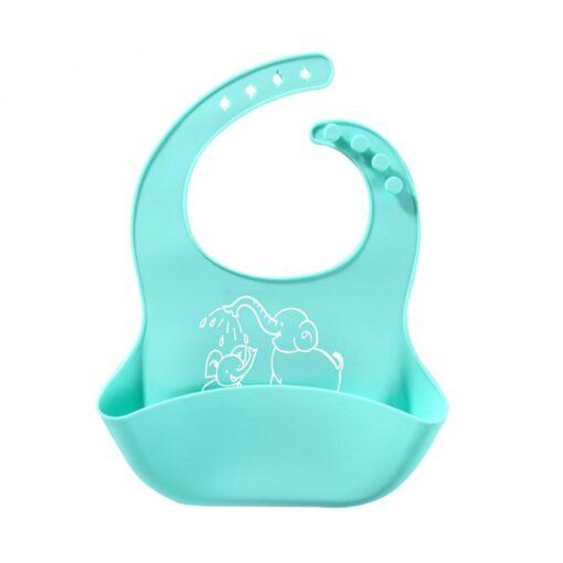 Baby Bibs Feeding Baby Burp Cloths Baby Boys Girls Waterproof Silicone Bib Aprons Babador Breastplate Baby 1