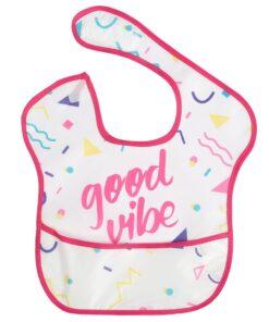 Baby Bibs Newborn Kid Infants Waterproof Stain Resistant Bib With Pocket Saliva Towel Baby Feeding Baberos 4