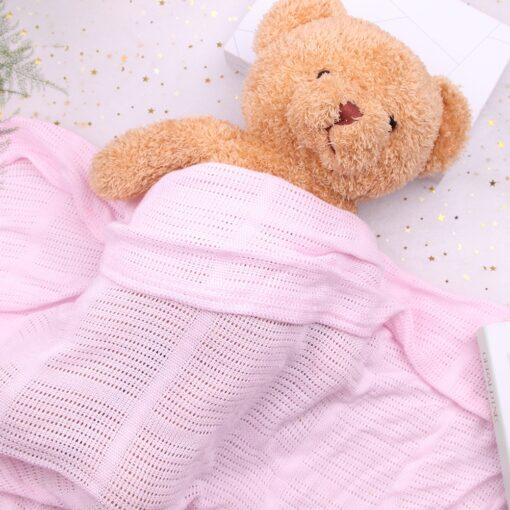 Baby Blanket Cotton Super Soft Kids Month Blankets Newborn Swaddle Infant Wrap Bath Towel Girl Boy 10