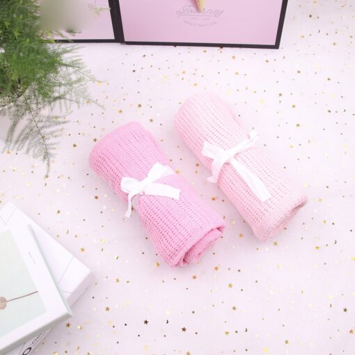 Baby Blanket Cotton Super Soft Kids Month Blankets Newborn Swaddle Infant Wrap Bath Towel Girl Boy 9