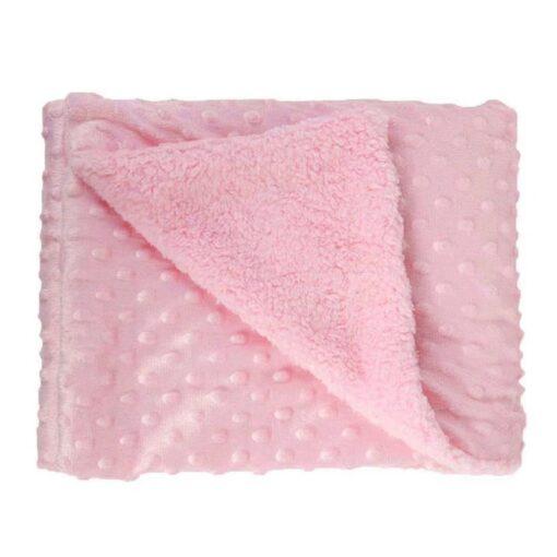 Baby Blanket Newborn Baby Swaddle Wrap Thermal Soft Fleece Roupa Baby Bedding Receiving Blanket Manta Bebes 4