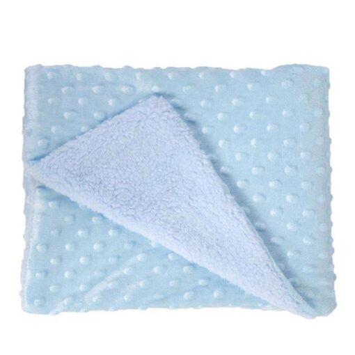 Baby Blanket Newborn Baby Swaddle Wrap Thermal Soft Fleece Roupa Baby Bedding Receiving Blanket Manta Bebes 5