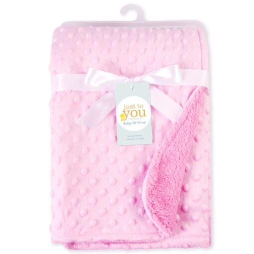Baby Blanket Swaddling Newborn Thermal Soft Fleece Blanket Winter Solid Bedding Set Cotton Quilt Infant Bedding 3
