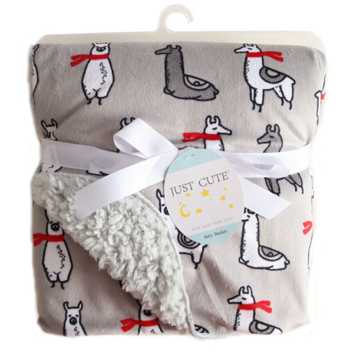 Baby Blankets New Thicken Double Layer Coral Fleece Infant Swaddle Bebe Envelope Wrap Owl Printed Newborn 3