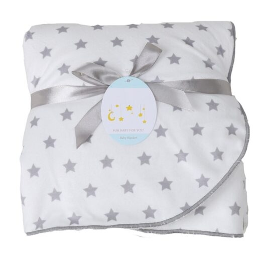 Baby Blankets New Thicken Double Layer Soft Coral Fleece Infant Swaddle Bebe Envelope Stroller Wrap Newborn