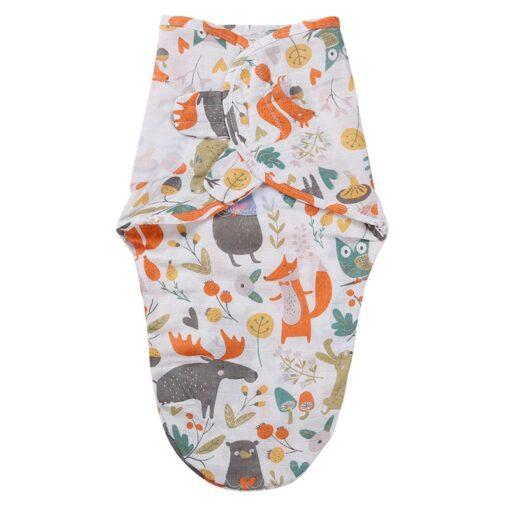 Baby Blankets Newborn 100 Cotton Baby Swaddle Wrap Sleeping Bag Sleep Sack Infant Swaddling Bedding Towel 2