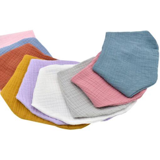 Baby Boys Girls Pacifier Clip Waterproof Cute Saliva Towel Kids Toddler Feeding Cotton Bib Scarf 2020 1