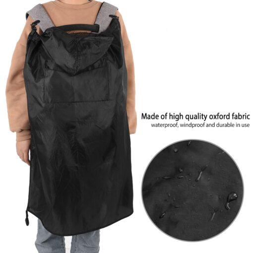 Baby Carrier Cover Sling Wrap Wearing Backpack Outdoor Rain Cover Wind Waterproof Baby Carrier Windproof Dustproof 1