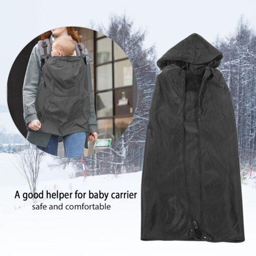 Baby Carrier Cover Sling Wrap Wearing Backpack Outdoor Rain Cover Wind Waterproof Baby Carrier Windproof Dustproof