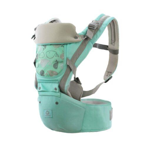 Baby Carrier Ergonomic Sling Front Hug Waist Stool Holding Belt Porte Bebe Kangaroo Hip Seat Versatile 2