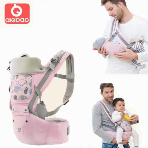 Baby Carrier Ergonomic Sling Front Hug Waist Stool Holding Belt Porte Bebe Kangaroo Hip Seat Versatile