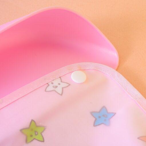 Baby Cartoon Cute Detachable Bibs Kids Boys Girls Waterproof Feeding Apron Saliva Towel Bib Smock Baby 2