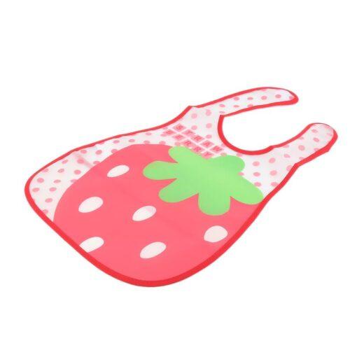 Baby Cartoon Feeding Turn Bibs Cute Kid Lunch Pattern Towel Bibs Waterproof Baby Bibs EVA Soft 3