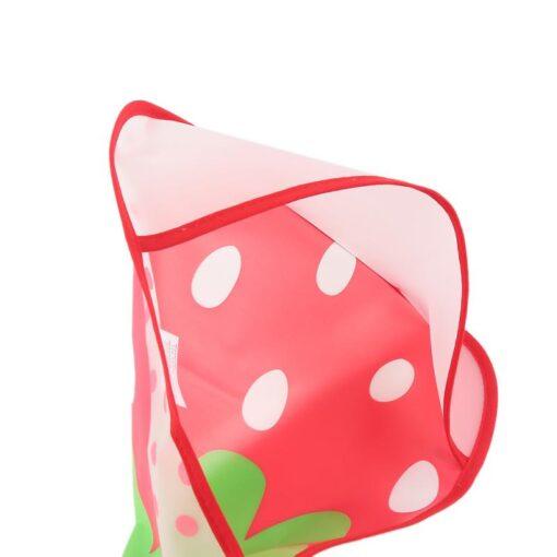 Baby Cartoon Feeding Turn Bibs Cute Kid Lunch Pattern Towel Bibs Waterproof Baby Bibs EVA Soft 4