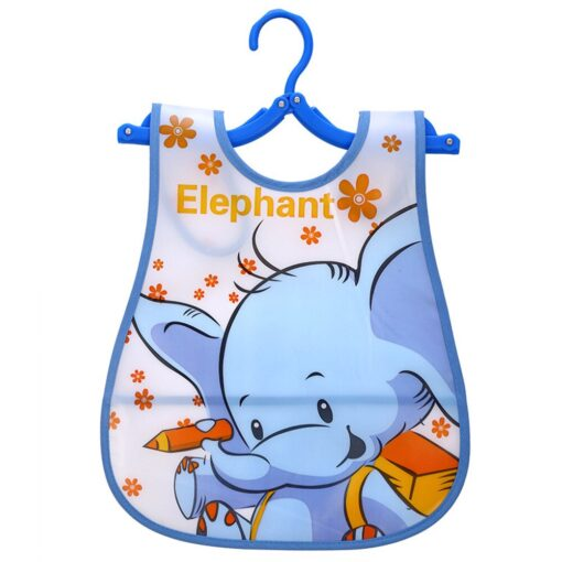 Baby Cloth Baby Waterproof Cute Kid Infant Bibs Baby Soft Cartoon Bib Waterproof Saliva Dripping Bibs 1