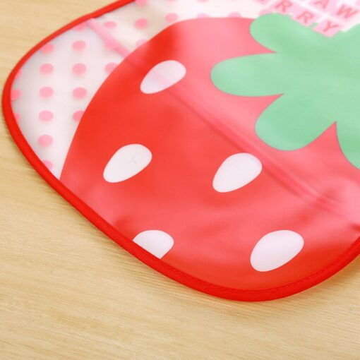 Baby Cloth Baby Waterproof Cute Kid Infant Bibs Baby Soft Cartoon Bib Waterproof Saliva Dripping Bibs 2