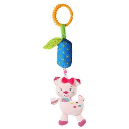 Baby Crib Hanging Toy Rattle Newborn Baby Infant Stroller Plush Toys Hand Bell Baby Stroller Crib 3