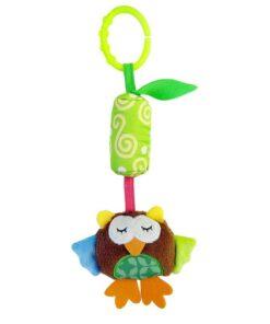 Baby Crib Hanging Toy Rattle Newborn Baby Infant Stroller Plush Toys Hand Bell Baby Stroller Crib 5