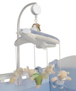 Baby Crib Holder Rattles DIY Plush Hanging Baby Crib Mobile Bed Bell Golder Kids Toy Holder 3