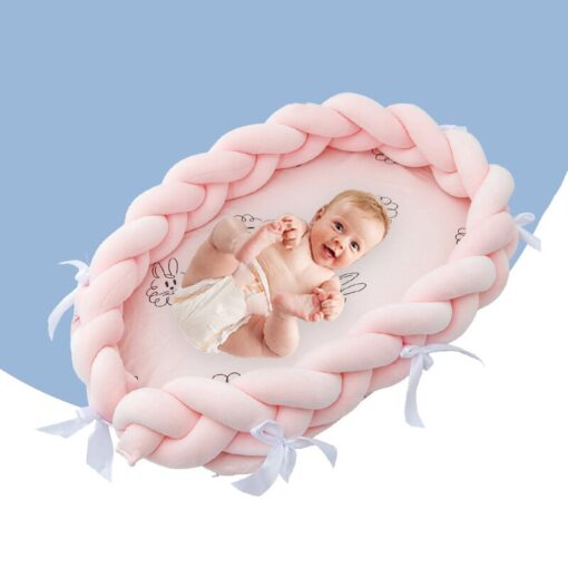 Baby Crib Home Portable Folding Baby Bed Infant Game Beds Multifunction Travel Bed for Bionic Bed