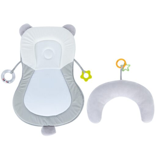 Baby Crib Infant Sleep Stereotypes Pillow Anti Rollover Baby Flat Head Safety Positioning Pillow Newborn Travel 4