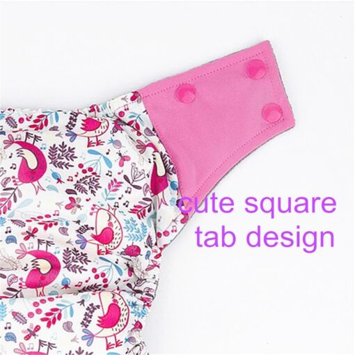 Baby Diaper AIO Baby Use Cloth Diaper or Matches Charcoal Insert Nappy Wholesale AIO Diapers One 5