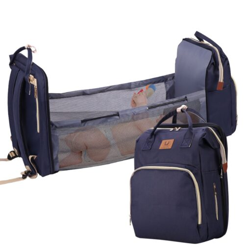 Baby Diaper Bag Bed Backpack For Mom Maternity Bag For Stroller Nappy Bag Large Capacity Nursing