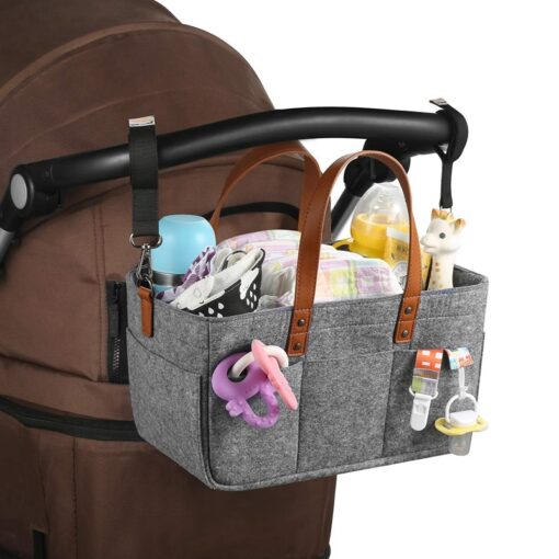 Baby Diaper Caddy Organizer Portable Holder Bag Multifunctional Kids Diapers Nappy Changing Maternity Handbags Bag 2