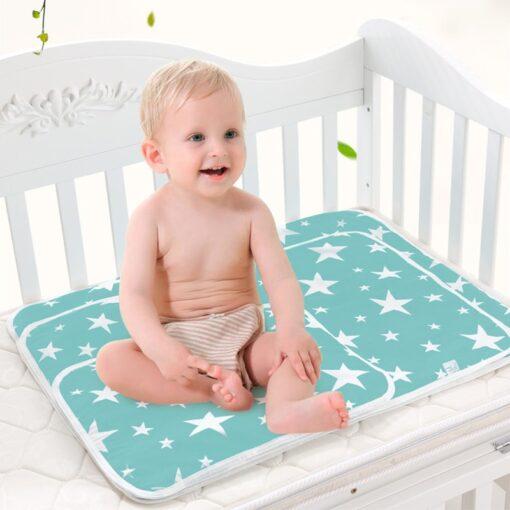 Baby Diaper Changing mat Infants Portable Foldable Washable Waterproof Mattress travel pad floor mats cushion reusable 4