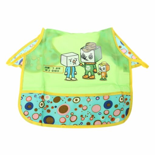 Baby Eating Table Mat Feeding Chair Cushion Waterproof Round Folding Infants Pad A Bibs As A 3