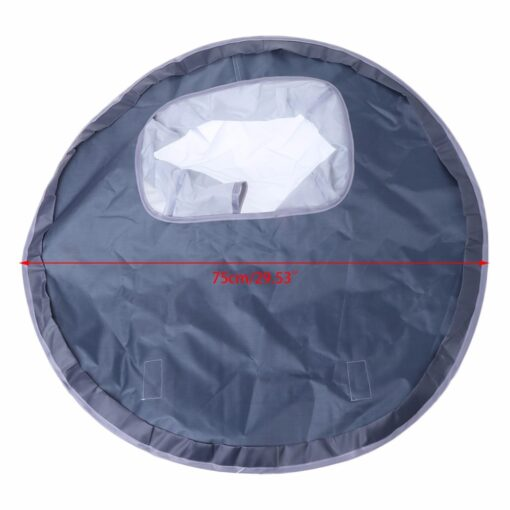Baby Eating Table Mat Feeding Chair Cushion Waterproof Round Folding Infants Pad A Bibs As A 4