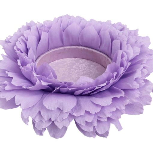 Baby Flower Shaped Posing Container Newborn Infant Big Petal Photography Props 3