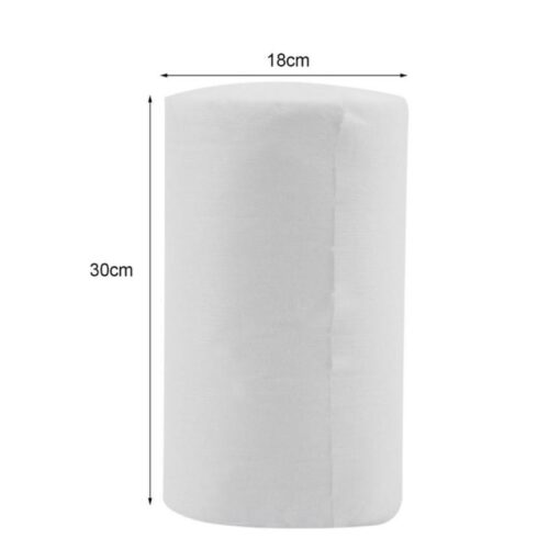 Baby Flushable Disposable Cloth Nappy Biodegradable Diaper Insert Bamboo fiber Liners 100 absorvente ecologica Sheets 1 3