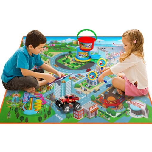 Baby Foam Mat Play Mat Kids City Road Carpets Route Map Crawling Pad Baby Toys Rugs