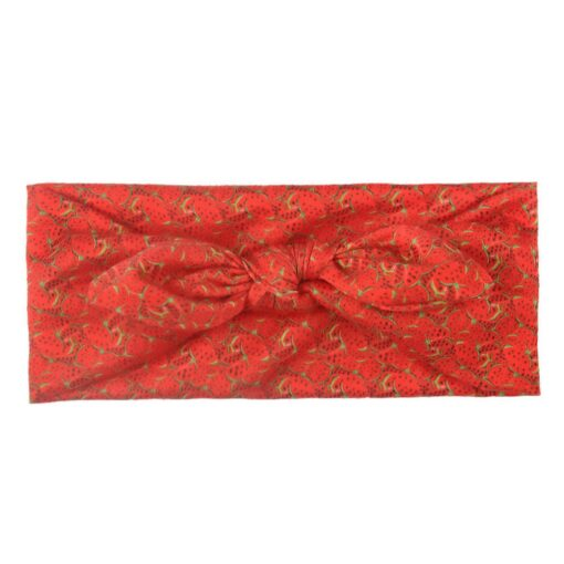 Baby Fruit Headband Hair Band Accessories Printed Baby Girls Bow Head Wrap Accessories Headwears d3 6