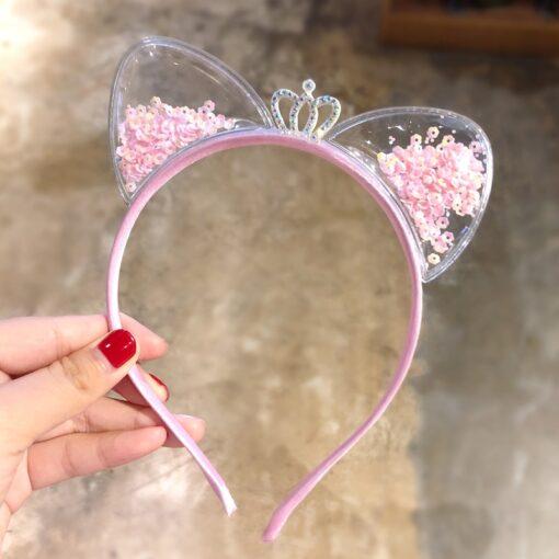Baby Girls Headband Kids Headwear Princess Hairbands Hair Accessories Headdress Hair Ornament Dropshipping 4