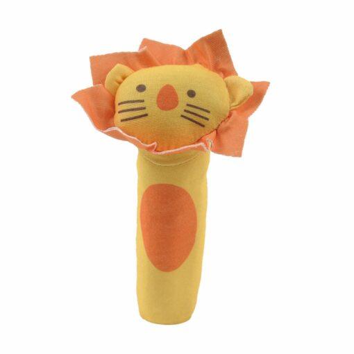 Baby Grasp Toys kids Plush Rattle Baby BB Sticks Handle Rod Educational Toys Rattles Animal Baby 4