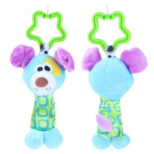 Baby Kids Crib Rattle Toys Tinkle Hand Bell Grasping Stuffed Plush Bed Stroller Hanging Toy Kawaii 4