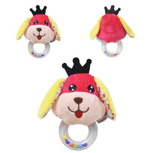 Baby Kids Rattle Toys Cartoon Animal Plush Hand Bell Baby Newborn Infant Plush Animal Dolls Rattle 3