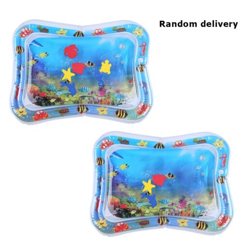 Baby Kids Water Play Mat Summer Inflatable Water Mat For Babies Safety Cushion Ice Mat Tummy 1