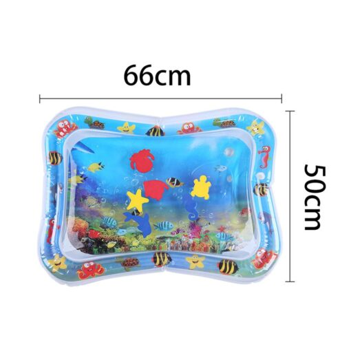 Baby Kids Water Play Mat Summer Inflatable Water Mat For Babies Safety Cushion Ice Mat Tummy 5
