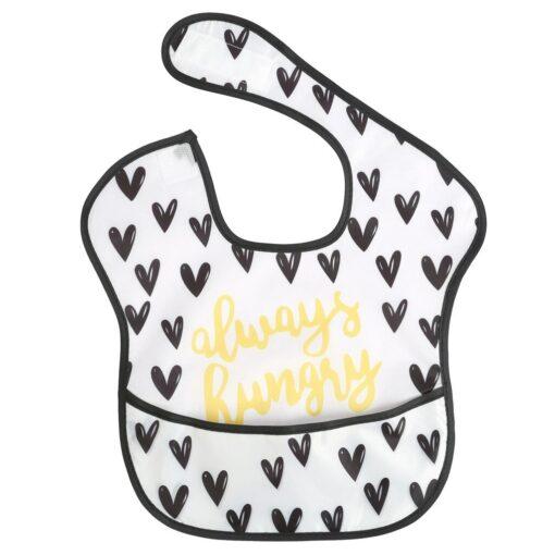 Baby Newborn Kid Infants Waterproof Stain Resistant Baby Bibs With Pocket Saliva Towel Baby Feeding Bib 3