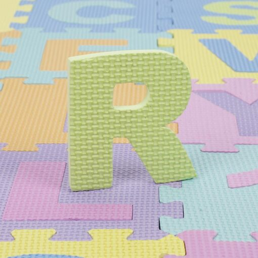 Baby Play Mat Crawling Mat EVA Foam Puzzle Rugs Toys Learning Numbers ABC Alphabet Mat Floor 3