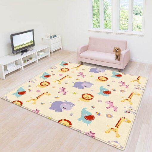 Baby Play Mat Foldable Baby Crawling Mat Reversible Baby Play Gym Mat Non Slip Nursery Climbing 1