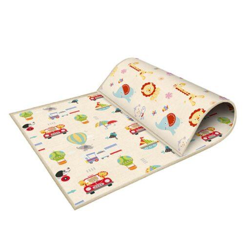 Baby Play Mat Foldable Baby Crawling Mat Reversible Baby Play Gym Mat Non Slip Nursery Climbing 5