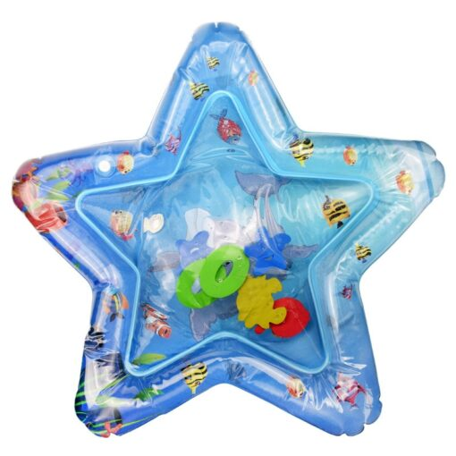 Baby Play Water Mat Inflatable Water Play Mat Infants Toddlers Fun Summer Time Play Activity Center 3